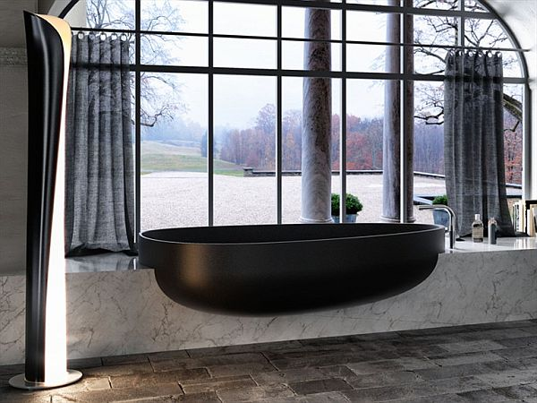 The stylish Beyond bathtub by Claudia Danelon and Federico Meroni