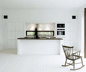 Danish black and white interiors by Norm