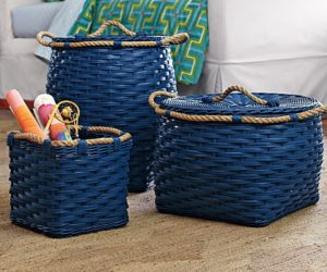 Blue Rope Bin Collection from Cobalt