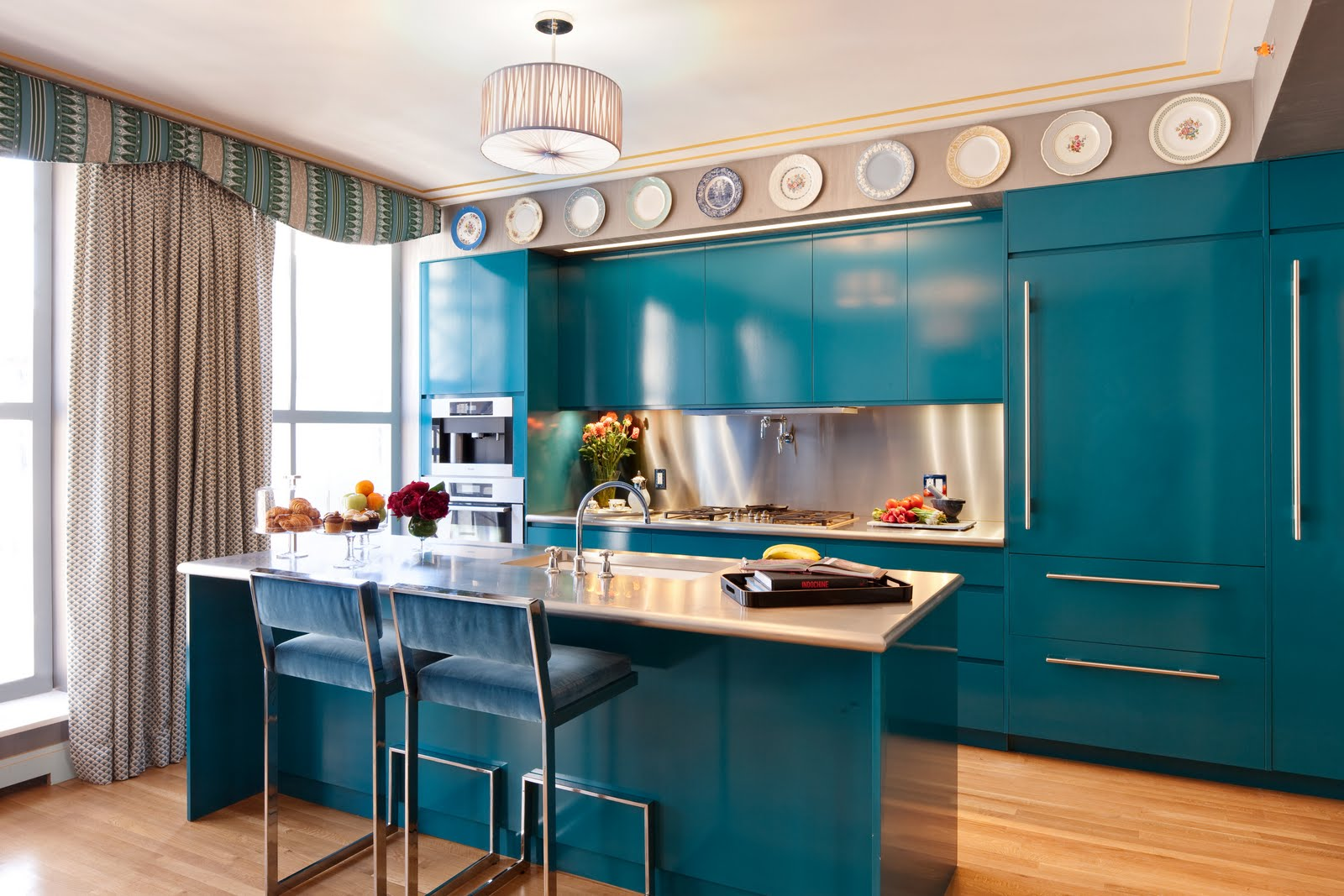 Colors For A Kitchen should kitchen cabinets match the hardwood floors?