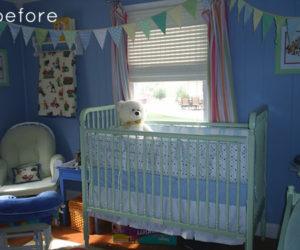 Cozy boy's room makeover