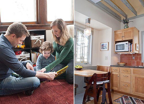 Brett, Megan And Noahu0027s Renovated Loft