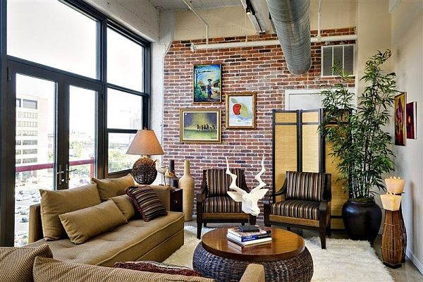 Choose stone and brick for interior design for Cool rooms to have in your house