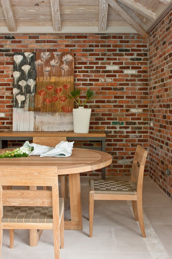 Choose stone and brick for interior design for Bricks stone design