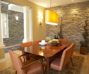 Choose Stone and Brick For Interior Design