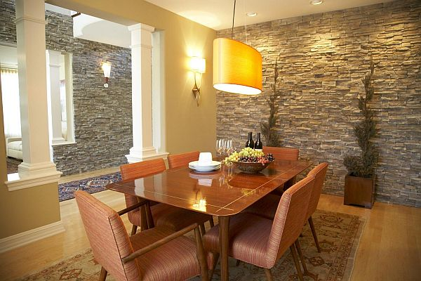View in gallery & Choose Stone and Brick For Interior Design