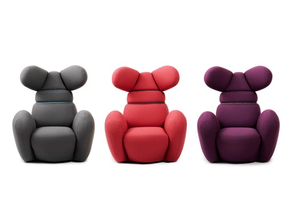 The Colorful And Fun Bunny Chair