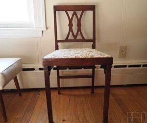 Creative Leg-o-matic chair makeover