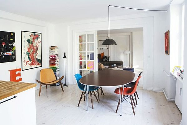 Colorful Scandinavian Apartment Perfect Designed For A