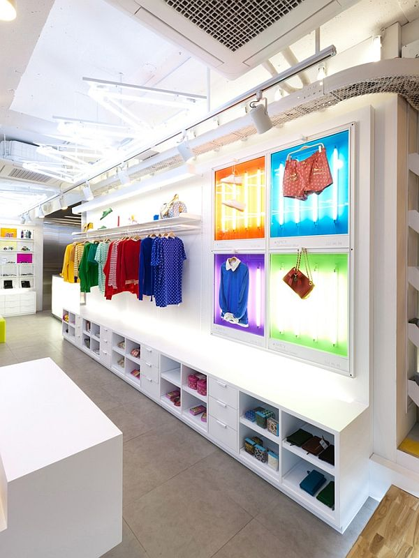 Spice fashion colorful shop interior design for Image of interior design