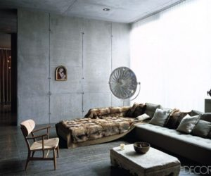 ... Concrete Wall Penthouse In Berlin