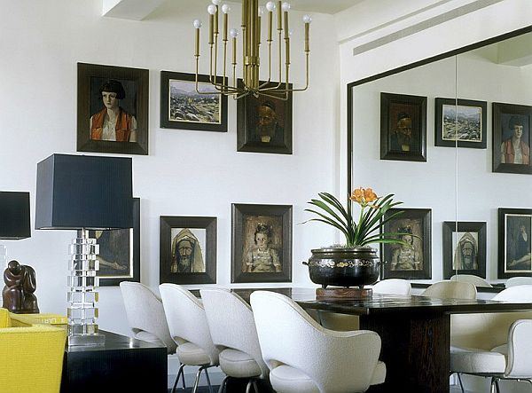 Decorating With Mirrors decorate using oversized mirrors