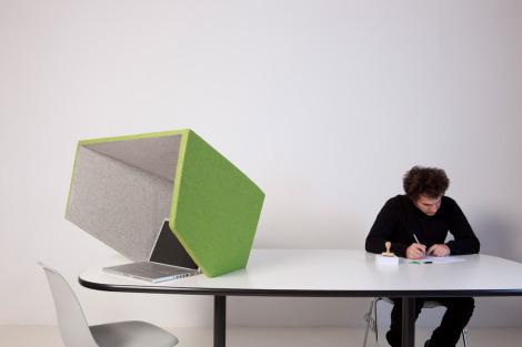 Private Working Corner- Deskshell