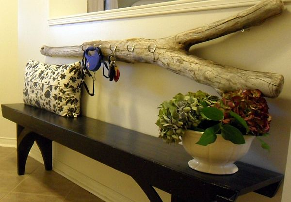 beautifully idea key holders for wall. Diy driftwood key holder  Top 15 DIY Key Holders Racks For Your Home