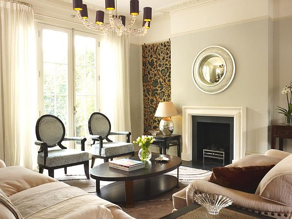 Elegant brook house interior design in london for London house interior design