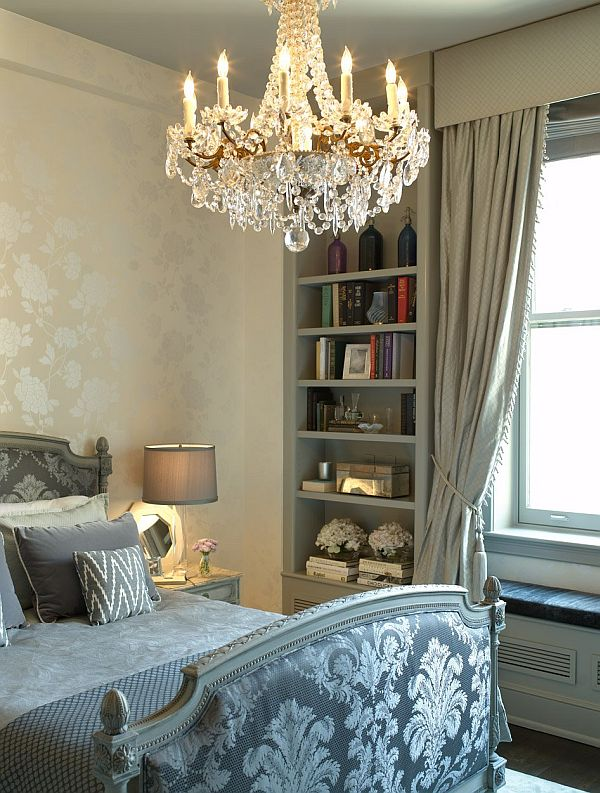 The crystal chandelier like centerpiece in our homes for Crystal chandeliers for bedrooms