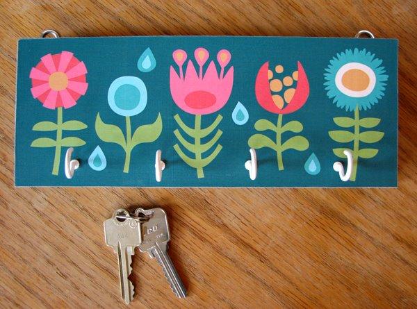 beautifully idea key holders for wall. Funky Diy key holder  Top 15 DIY Key Holders Racks For Your Home