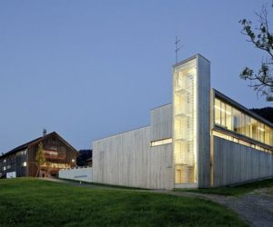 A New Fire Station Building In Sulzberg-Thal, Austria