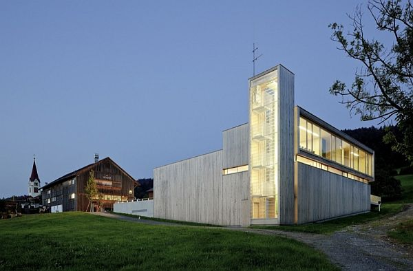 A New Fire Station Building In Sulzberg Thal, Austria