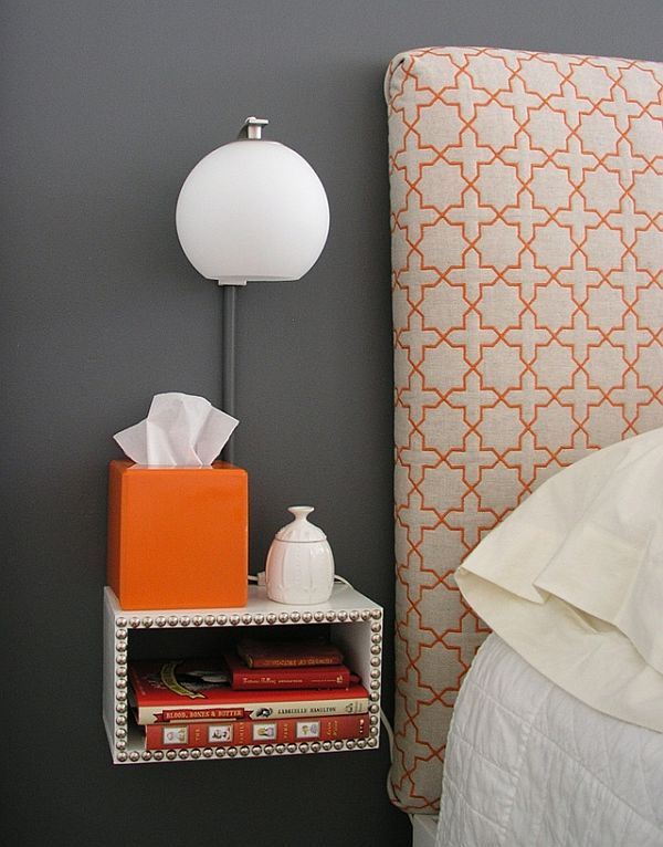 how to build a floating nightstand that matches your bedroom Floating Night Table