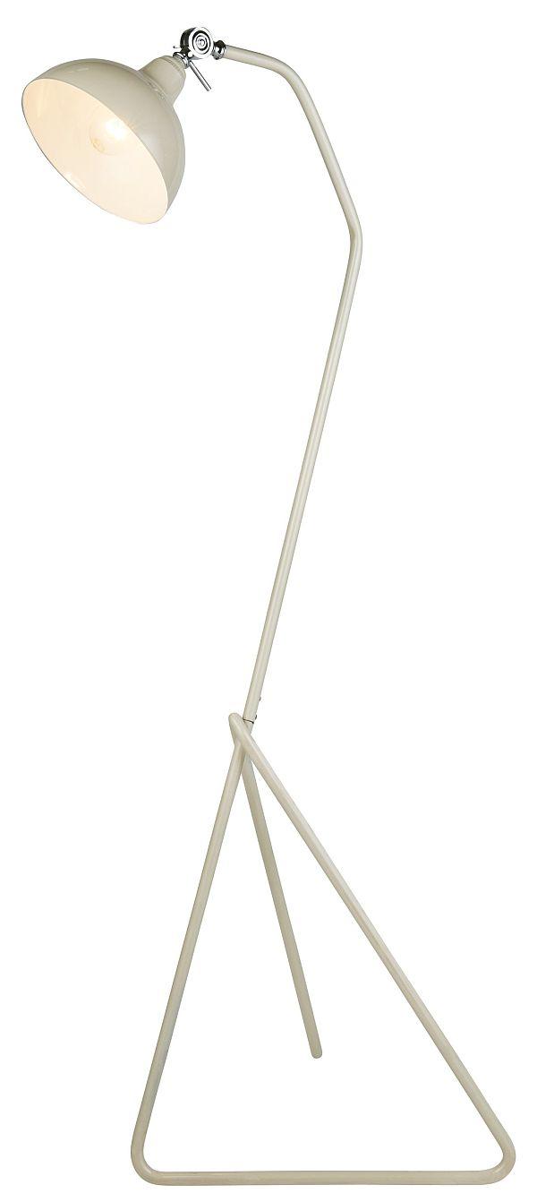 Cream Floor Lamp