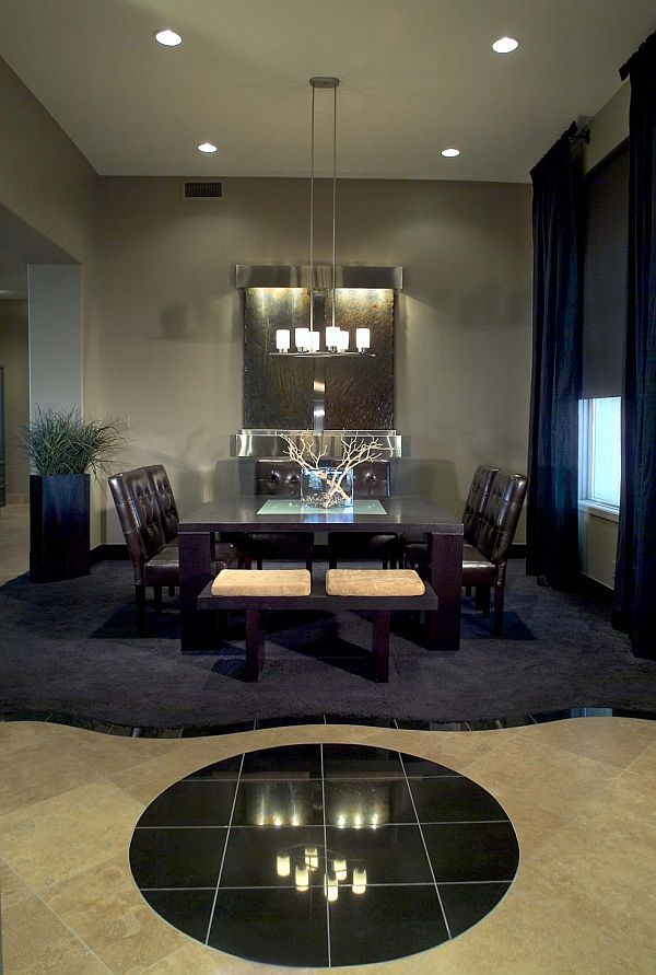 21 dining room design ideas for your home for Dining room space ideas