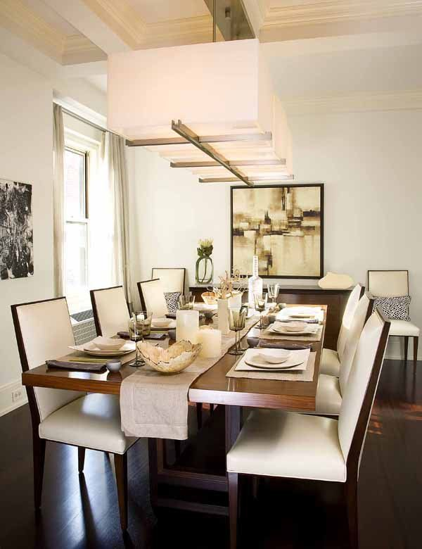 21 dining room design ideas for your home for Small contemporary dining room ideas