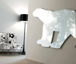 Unusual Animal Shaped Mirrors by Creazioni