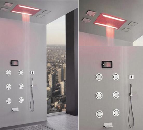 graff aqua sense shower. Black Bedroom Furniture Sets. Home Design Ideas