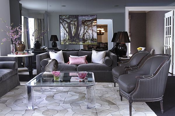 Gray Interior Design Ideas For Your Home Delectable Gray Living Room Design