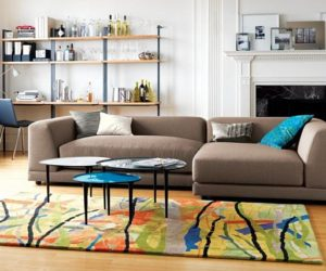 ... A Football Fan · Color Field Rug From CB2