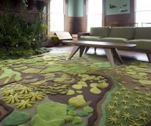 The Woods hand-tufted wool rug