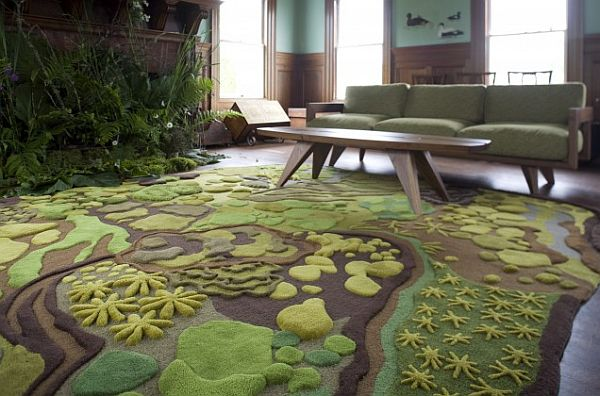 The Woods Hand Tufted Wool Rug
