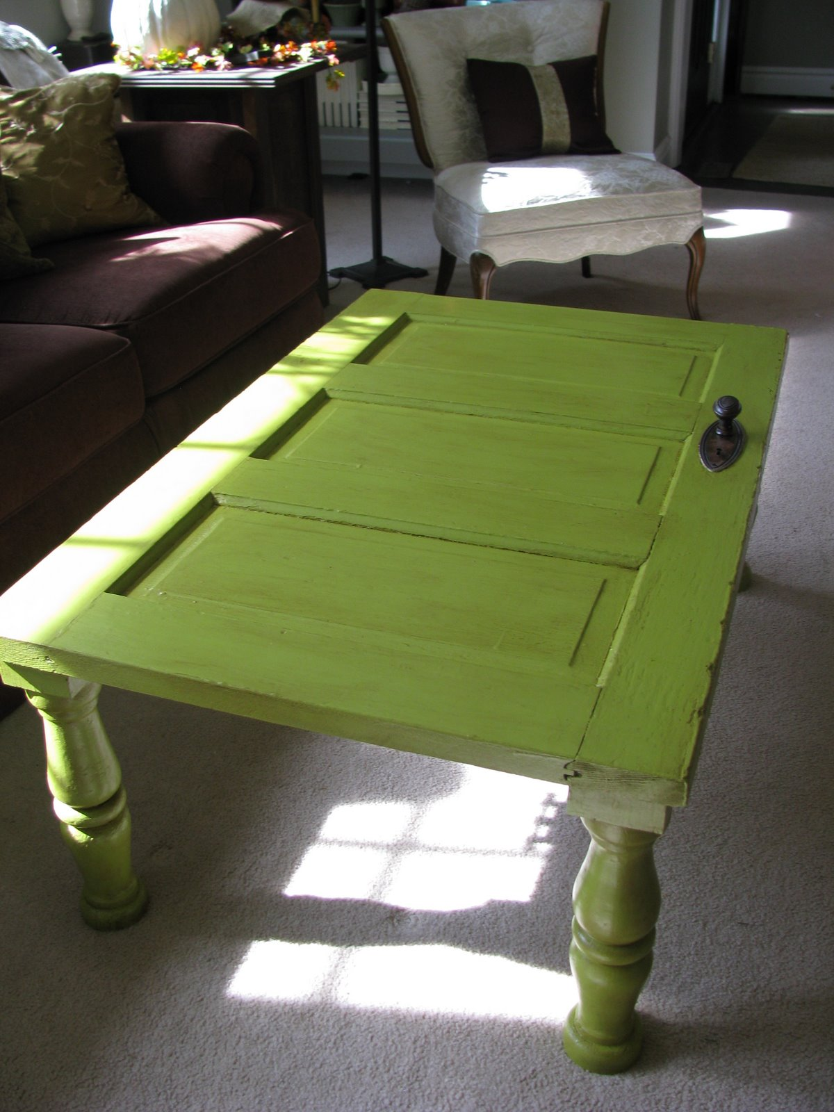 The Art Recycling Old Doors Into Stylish Tables
