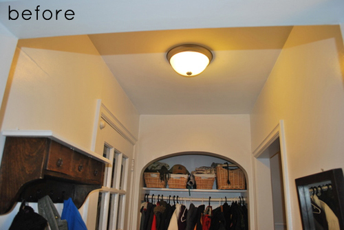Stylish and modern hallway ceiling makeover mozeypictures Gallery