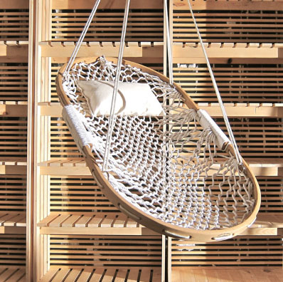 Hammock Swing From Kiosk