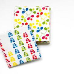 Color Block Tile Tables