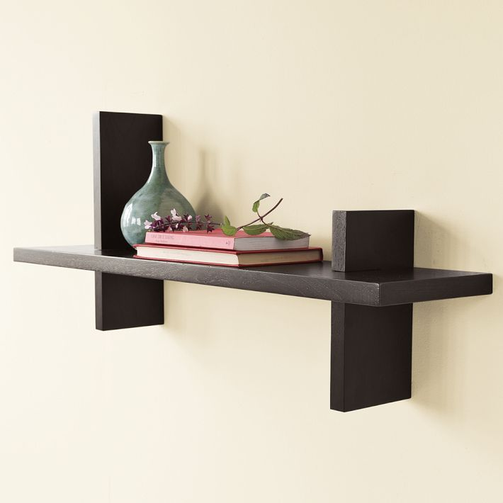 West Elm Floating Shelves modular shelf from west elm