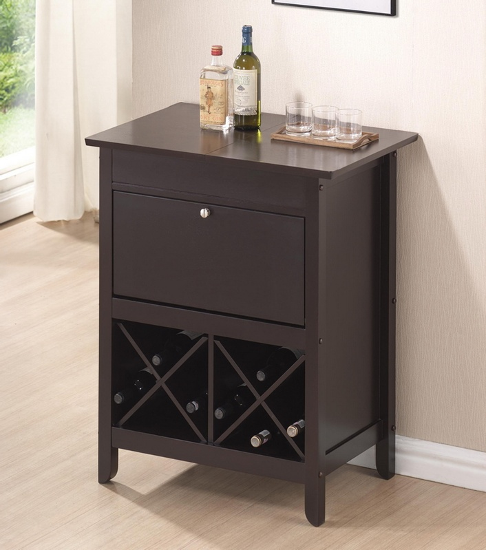 wine bar cabinet baxton studio tuscany brown modern bar and wine cabinet 29292