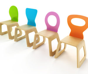 Play wood chairs for your child's room