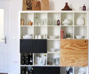 The Expedit kitchen storage unit