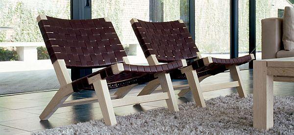 Ideal Elegant and Relaxing 128 Lounge Chair from De La Espada IZ63