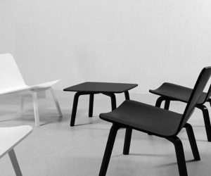 Odyssey Lounge Chair · Minimalist Lounge Chair And Table
