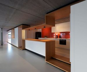 The contemporary Loft 02 in Bruxelles, Belgium