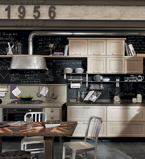 Vintage Kitchen Ideas: Vintage Kitchen Designs From Marchi Group