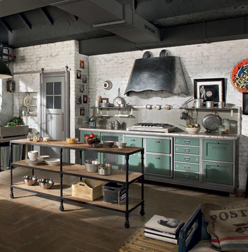 Retro Kitchen Design Pictures: Vintage Kitchen Designs From Marchi Group