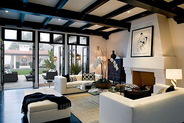 Chic Design Trend: Exposed Beams