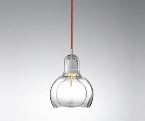 The minimalist Mega Bulb pendant lamp