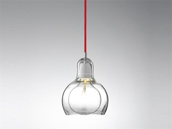 The minimalist Mega Bulb pendant lamp