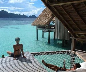 Milsol eco luxury diving resort surrounded by the worlds richest reefs